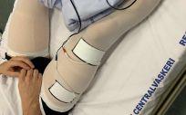 Desarrollan un electrodo biocompatible para la estimulación muscular eléctrica en pacientes Covid (Foto. Hospital de Bispebjerg)