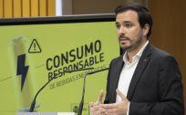 Alberto Garzón analiza la situación de las bebidas energéticas (Foto: Ministerio de Consumo)