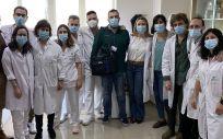 Equipo profesional del proyecto HADA (Foto. ConSalud)