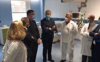 Visita del consejero de Sanidad en funciones, Enrique Ruiz Escudero, al hospital Ramón y Cajal.