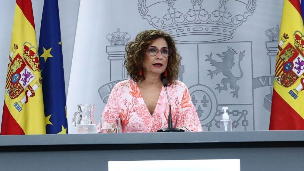 La portavoz del Gobierno y ministra de Hacienda, María Jesús Montero (Foto: Pool Moncloa / Fernando Calvo)