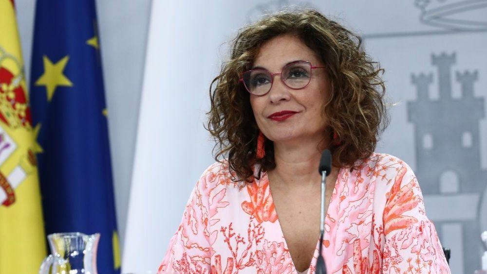 María Jesús Montero, portavoz del Gobierno, tras el Consejo de Ministros (Foto: Pool Moncloa / Fernando Calvo)