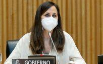 Ione Belarra, ministra de Derechos Sociales y Agenda 2030 (Foto: Congreso)