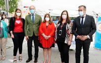 El consejero de Sanidad en funciones, Enrique Ruiz Escudero, y el consejero de Justicia Interior y Víctimas en funciones, Enrique López (Foto. Comunidad de Madrid)