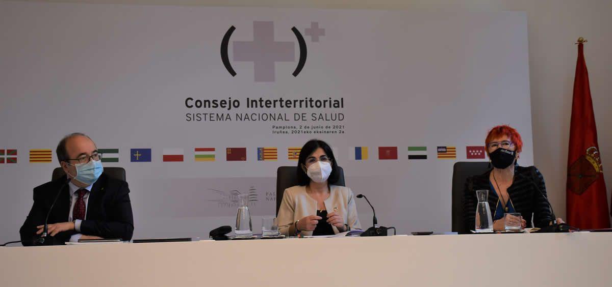 Consejo Interterritorial de Salud. (Foto. Pool Sanidad)