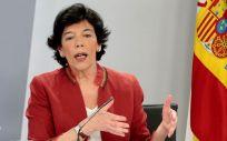 Isabel Celaá, ministra de Educación y Formación Profesional (Foto: Pool Moncloa)