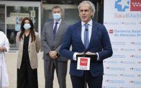 El Consejero de Sanidad de la Comunidad de Madrid, Enrique Ruiz Escudero. (Fuente: Comunidad de Madrid)
