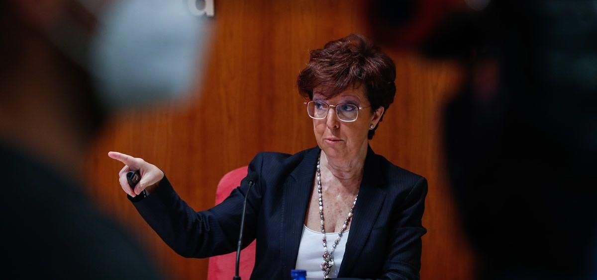 Elena Andradas, directora general de Salud Pública de la Comunidad de Madrid (Foto. Comunidad de Madrid)
