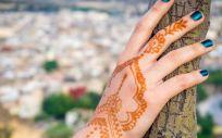 Tatuaje de henna (Foto. Freepik)