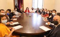 El 'Gobierno Alternativo' creado por Salvador Illa para Cataluña (Foto: @socialistes cat)