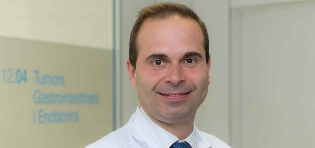 El Dr. Jaume Capdevila del Hospital Vall d'Hebron (Foto: Vall d'Hebron Instituto de Oncología)