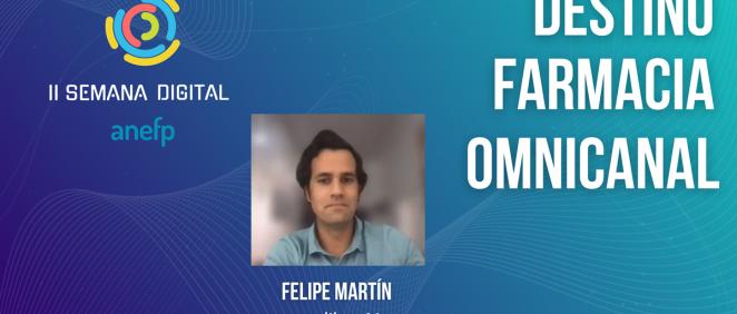 Felipe Martín en la II Semana Digital de la Anefp (Foto: Anefp)