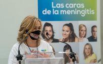 Cristina Regojo, presidenta de la Asociación Española contra la Meningitis (Foto. ARXINA / EP)