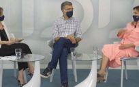 Participantes de IDiálogos sobre el papel del paciente y la digitalización de la sanidad (Foto. Fundación IDIS)
