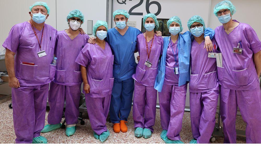Trasplante cardíaco de un donante con el corazón parado