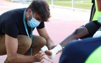 Servicio de fisioterapia del Hospital de Torrejón. (Foto Hospital Universitario de Torrejón)