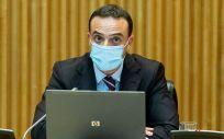 El secretario general de Salud Digital, Información e Innovación del Sistema Nacional de Salud, Alfredo González Gómez (Foto: Congreso)