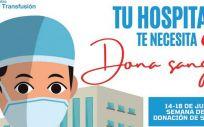 Campaña de donación 'Tu hospital te necesita. Dona sangre'. (Foto: Hospital de Torrejón)
