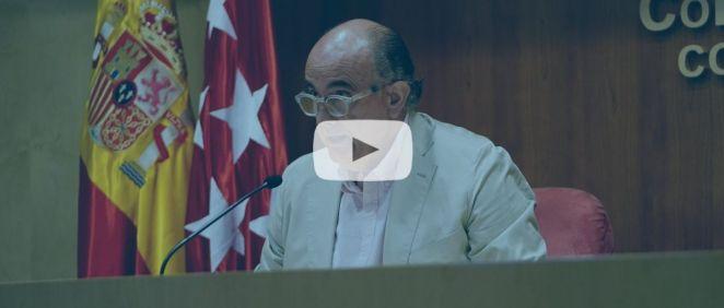 Antonio Zapatero, viceconsejero de Salud Pública y Plan Covid-19 de la Comunidad de Madrid (Foto: CAM - ConSalud TV)