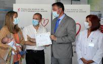 Un instante del acto celebrado este lunes con motivo del Día Mundial del Donante de Sangre (Foto: Centro de Transfusión)