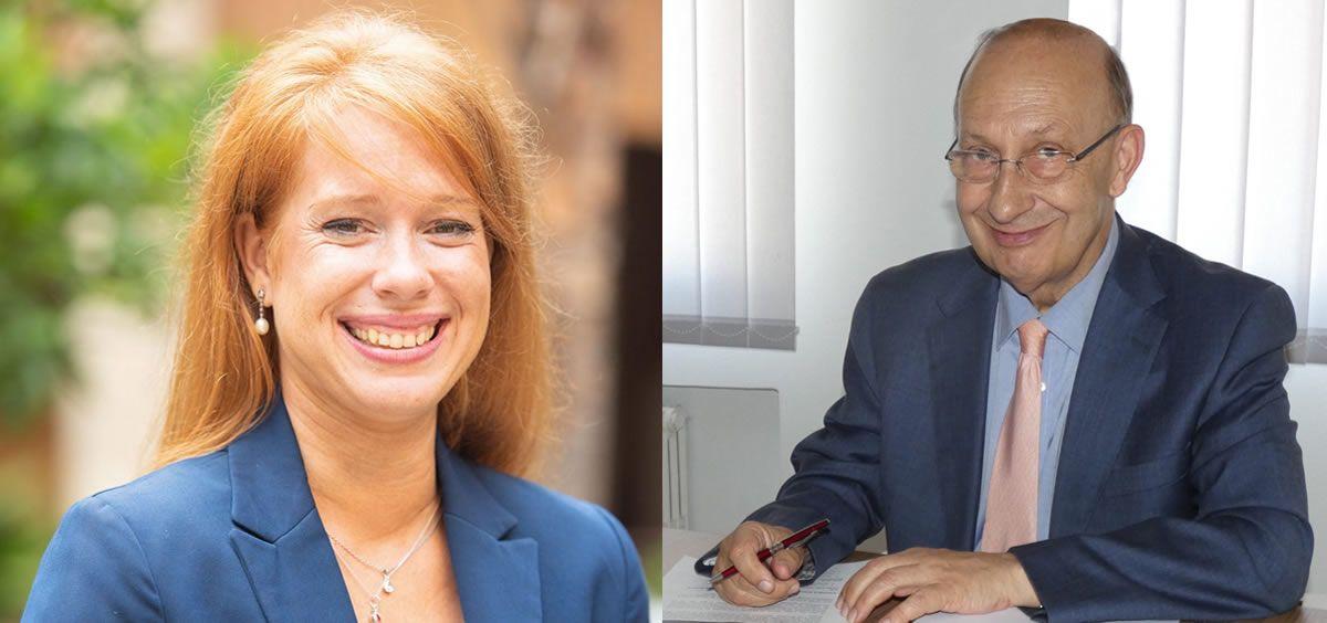 Lorena Pérez Campillo y José María Martínez García