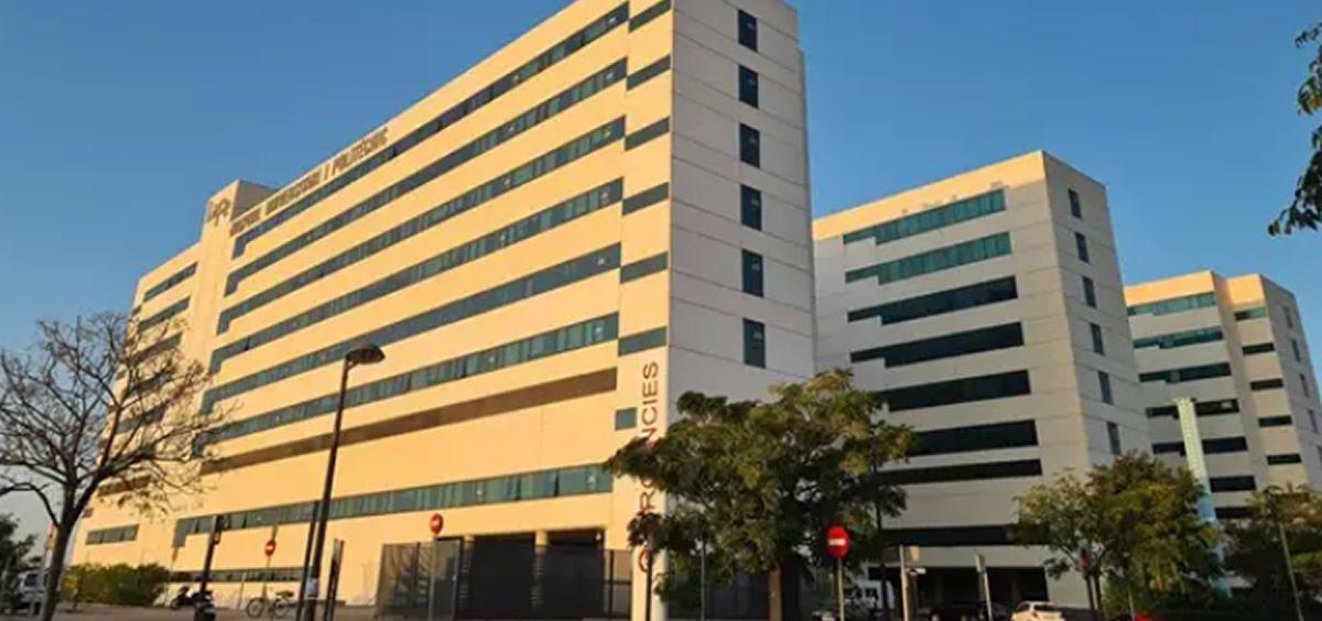 Fachda del Hospital la Fe de Valencia (Foto. EP)