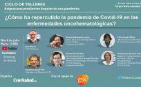 Programa del tercer taller (Foto. ConSalud.es)