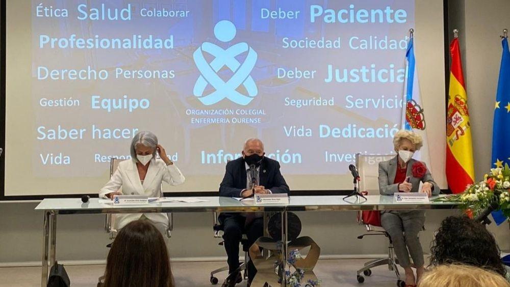 Toma de posesión de la nueva Junta de Gobierno del CGE de Orense (Foto: CGE)