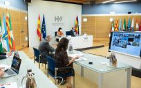 Reunión del Consejo Interterritorial (Foto: Pool Moncloa / Borja Puig de la Bellacasa)