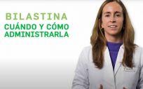 La farmacéutica Irene Suárez aborda el uso de las bilastinas