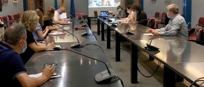 Comisión de seguimiento de Atención Primaria (Foto. Gobierno de Asturias)