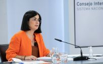 Carolina Darias, ministra de Sanidad, tras el Consejo Interterritorial (Foto: Pool Moncloa)