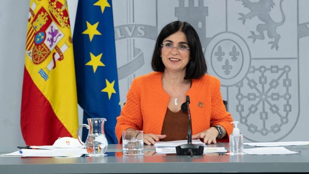 La ministra de Sanidad, Carolina Darias (Foto: Pool Moncloa)