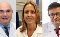 Investigadores españoles del estudio PEGASUS, Tabernero, Montagut y Cervantes (de izq a drcha)