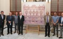 La obra nº6 Richard Somonte Llerena Primer Premio de Pintura de la Real Academia Nacional de Medicina y la fundación ASISA (Foto. ASISA)