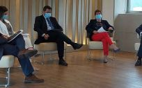 Coloquio sobre innovación sanitaria en Galicia. (Foto Customimplants)