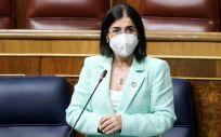 Carolina Darias apuesta por redoblar esfuerzos para el fin del VIH en 2030 (Foto: Congreso)