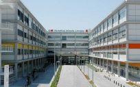 Fachada del Hospital Infanta Leonor. (Foto Hospital Universitario Infanta Leonor)