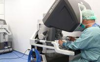 Nuevo modelo del robot quirúrgico Da Vinci (Foto: Vall d'Hebron)