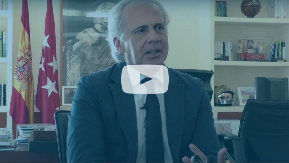 Entrevista al consejero de Sanidad de la Comunidad de Madrid, Enrique Ruiz Escudero. (Vídeo: Miguel Ángel Escobar)