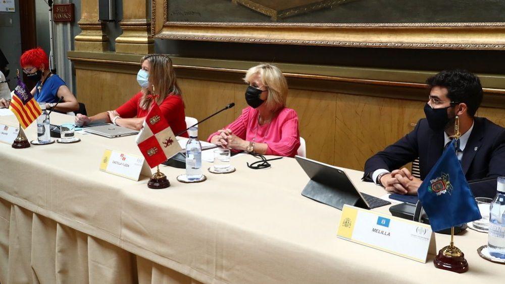Los consejeros de Sanidad de las distintas CC.AA. durante su participación en el CISNS. (Foto: Pool Moncloa)