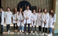 Investigadores del laboratorio de Investigación en Nefrología del IDIS. (Foto IDIS)