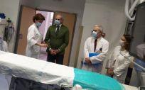 El consejero de Sanidad de la Comunidad de Madrid, Enrique Ruiz Escudero, visita el Hospital de La Princesa (Foto: CAM)