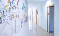 Pasillo de psiquiatría infantil del Hospital Niño Jesús (Foto. H. Niño Jesús)