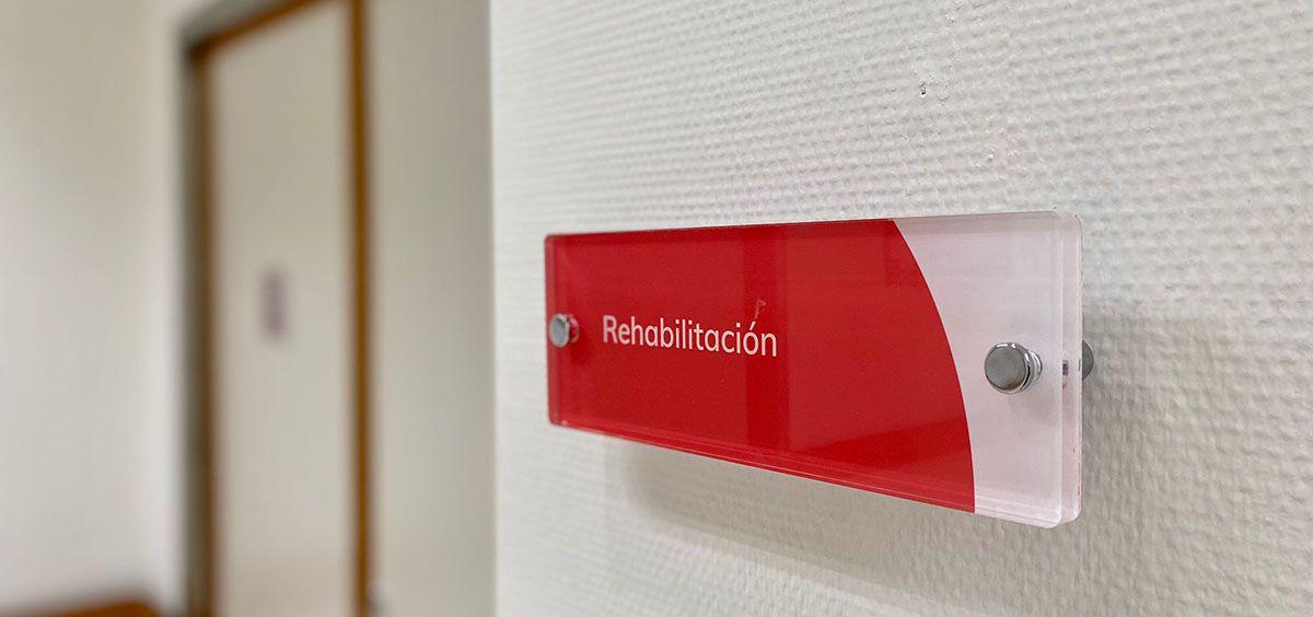 Sala de rehabilitación del hospital Ribera Almendralejo (Foto. Ribera)