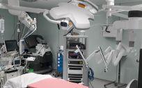 Imagen del robot Da Vinci de la Fundación Jiménez Díaz (Foto: FJD)