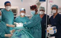 Equipo quirúrgico multicisciplinar de Cirugía Oral, Maxilofacial e Implantología del Hospital La Luz. (Foto Grupo Quirónsalud)