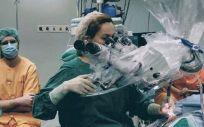 Intervención de implante coclear en el Hospital Universitario de Fuenlabrada (Foto: HFLR)