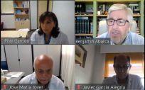 Pilar Garrido, presidenta de FACME, y otros expertos en la presentación del análisis sobre el actual modelo de Formación Médica Continuada (Foto. Facme)