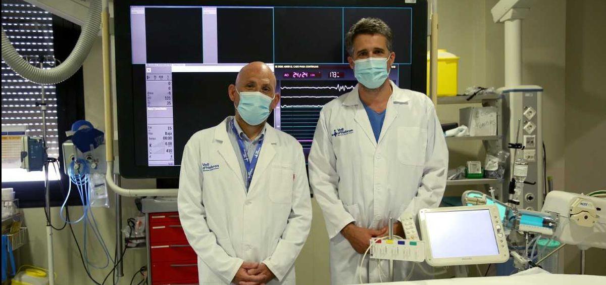 Vall d'Hebron lidera un estudio para disminuir los tiempos de atención de pacientes con ictus (Foto. Vall d'Hebron)